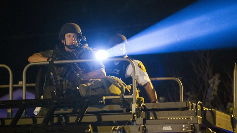 Pentagon orders Ferguson to return Humvees amid concerns about police militarization