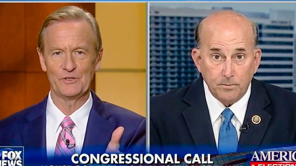 Louie Gohmert: Bill Clinton incited Trump's 'vile' p*ssy talk -- but now he's saved by Jesus