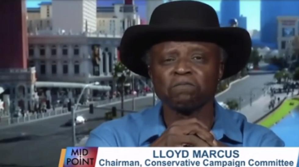 Tea Party spokesman who said Obama's blackness kills people breaks into tears on TV