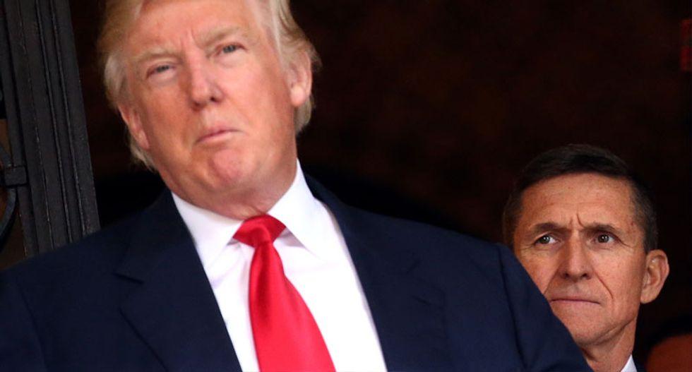 Trump's 'good luck' tweet to Flynn shows someone is feeding him secrets from Mueller probe: Legal expert