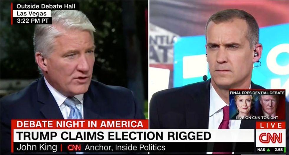 CNN's John King batters Corey Lewandowski over 'rigging' talk: How do Republicans ever get elected?