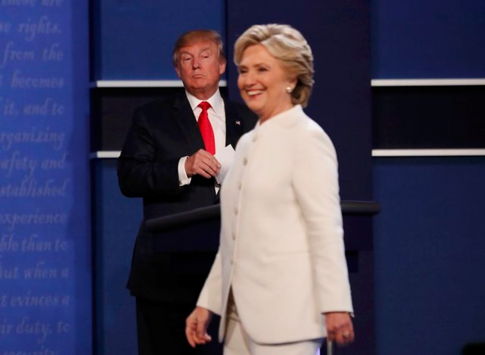 Trump dismissed Clinton as a 'nasty woman' -- and now women will give him a nasty result at the polls