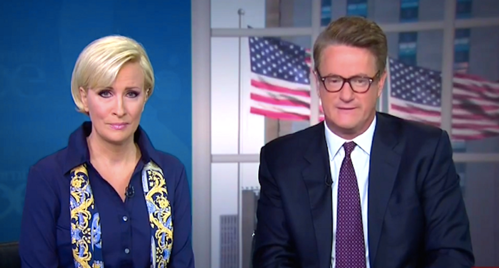 Morning Joe climbs back on the train to defend Trump's unhinged election 'suspense' threat