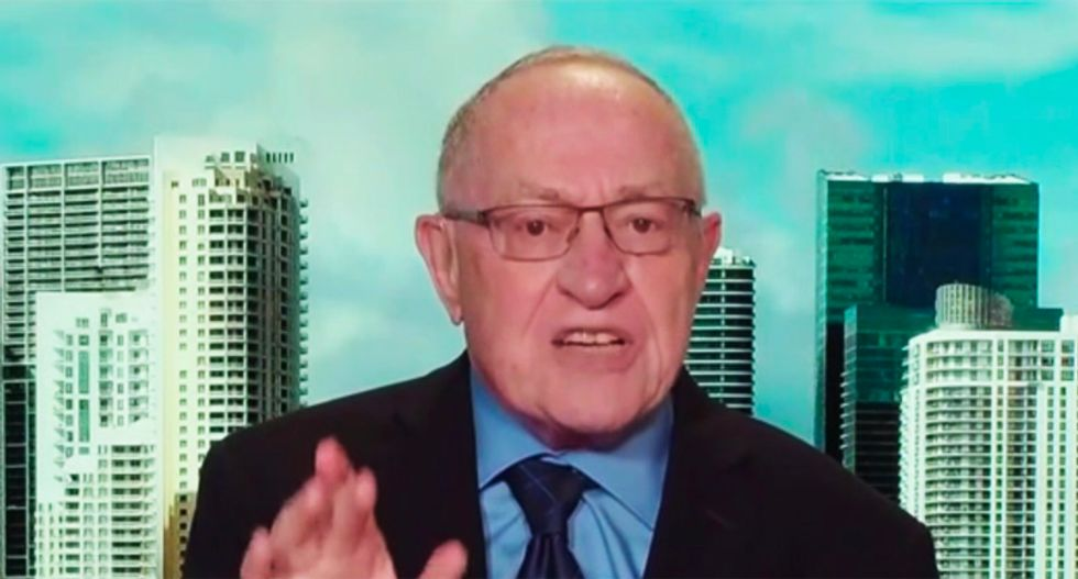 'Can you pepper spray a tweet?': Internet destroys Alan Dershowitz's argument against statutory rape laws