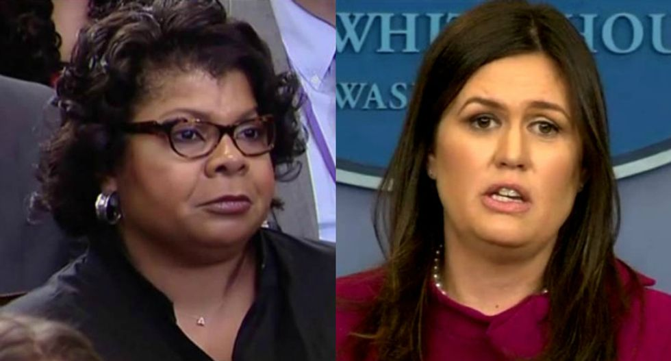 CNN's April Ryan claims White House press staffer is leaking stories on Sarah Sanders to force her out