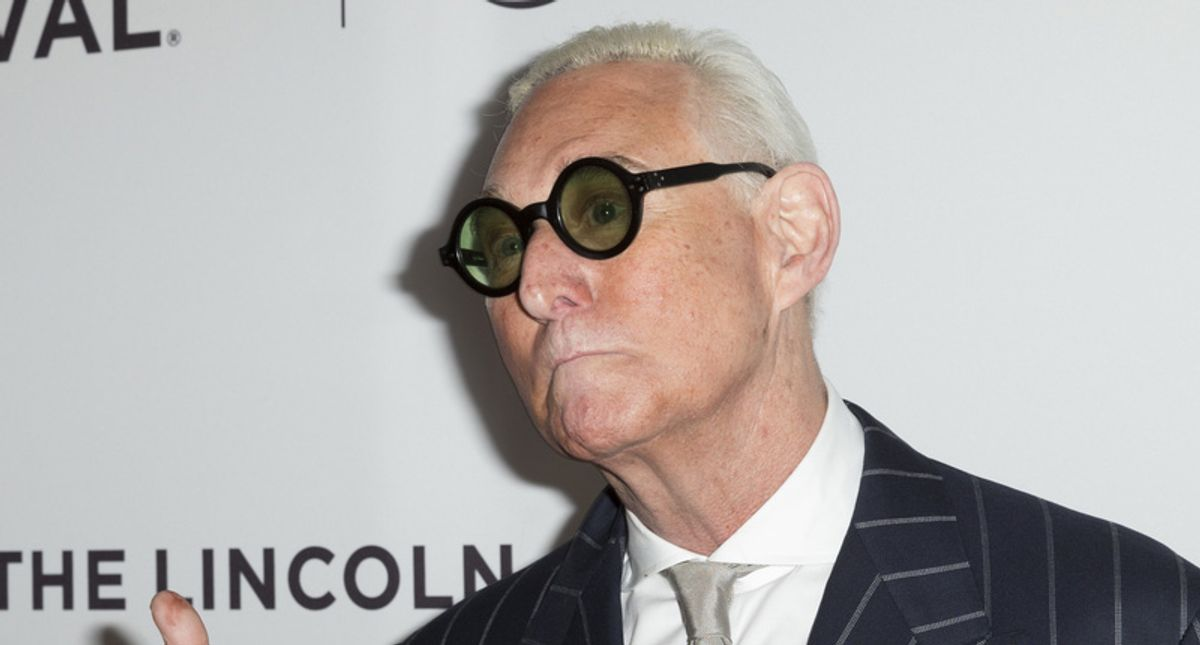 Roger Stone slammed by legal writer for trying to blame his tax delinquency on the 'Deep State'