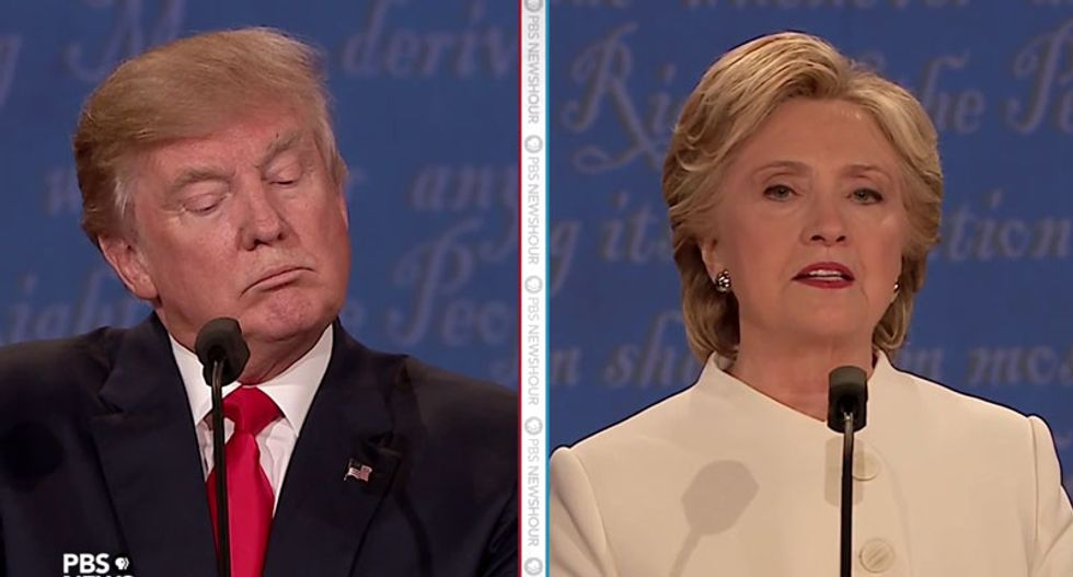 Four key moments from the final Clinton-Trump debate