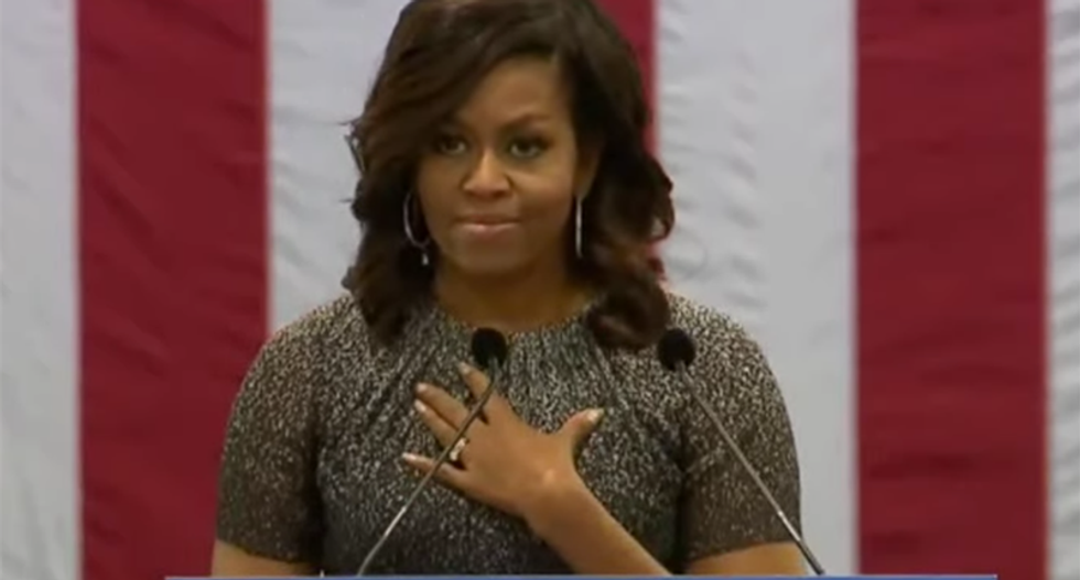 'An ape in heels': WV officials slur Michelle Obama -- and say Melania Trump will be 'refreshing'