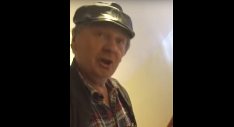 WATCH: Woman angrily confronts landlord accused of refusing to rent to Muslims