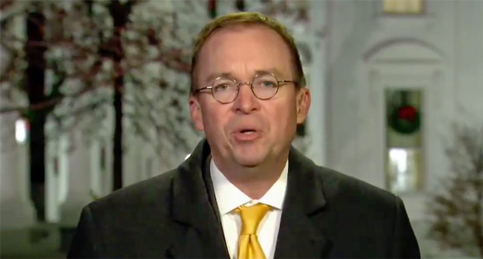 Judge denies effort to stop Mulvaney from heading consumer watchdog