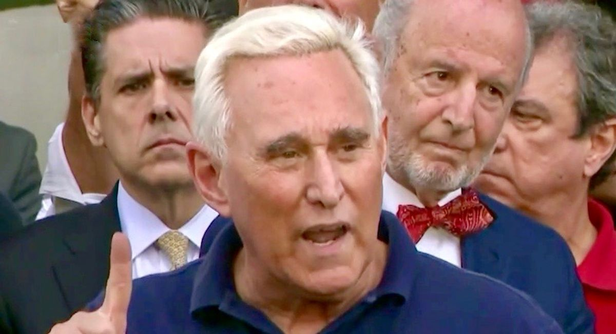 Roger Stone and allies seek to destroy fellow GOP operative in bizarre personal feud
