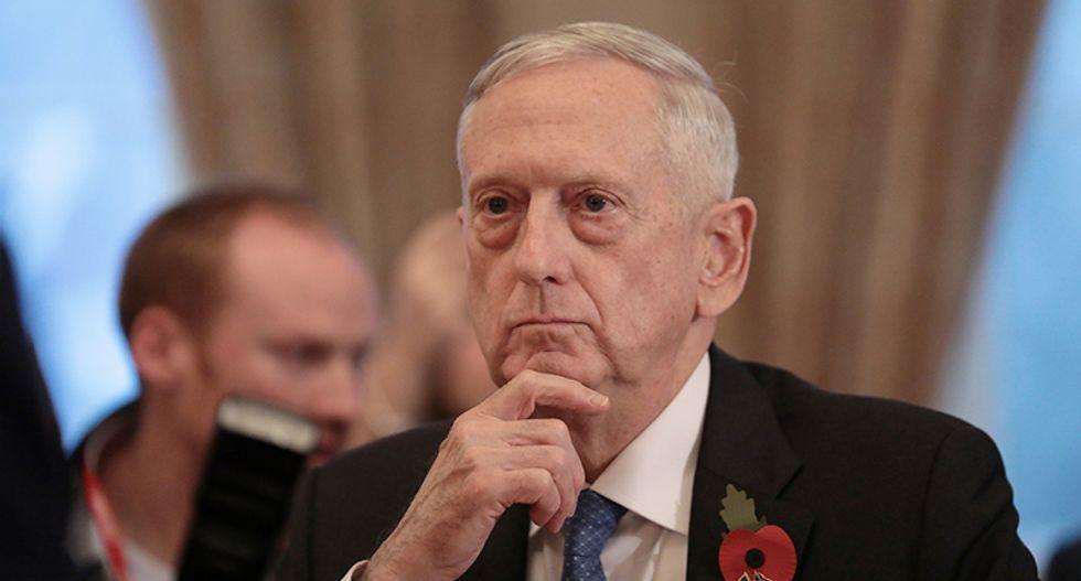 In Europe, Defense Secretary Jim Mattis finds himself in familiar spot -- calming US allies