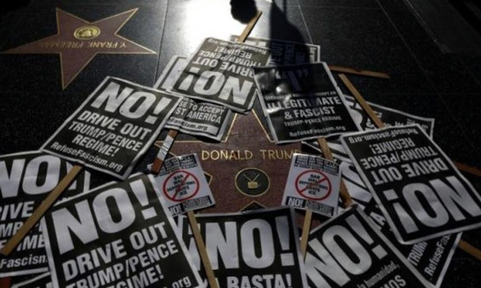 Dig up Trump's Hollywood Walk of Fame star, councilors urge