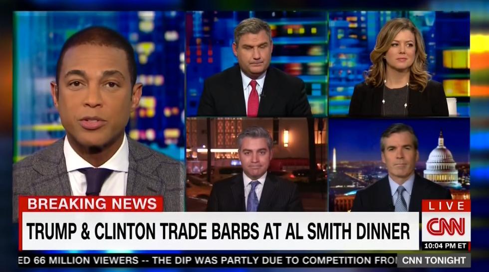 'Big serving of awkward': Don Lemon and CNN panel lament 'vicious' #AlSmithDinner