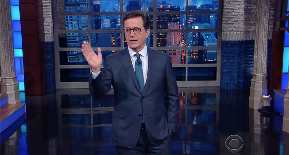 Stephen Colbert: 'Trump is no longer accepting the polls — or reality'