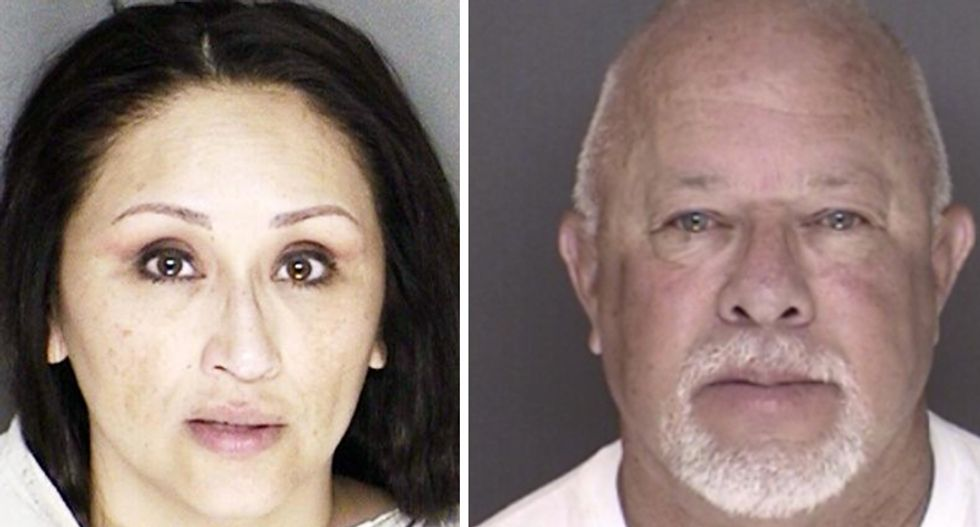 Wife of Texas cop busted for threatening potential witness against her husband