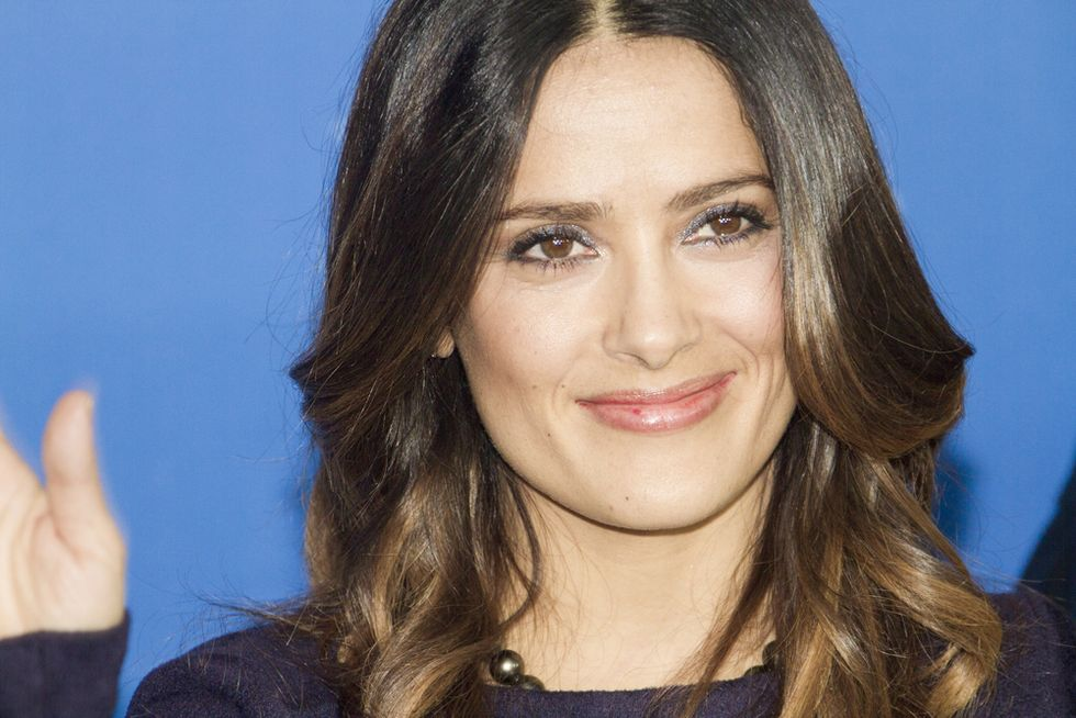 Salma Hayek shot down Trump for a date so he planted a phony story in the National Enquirer