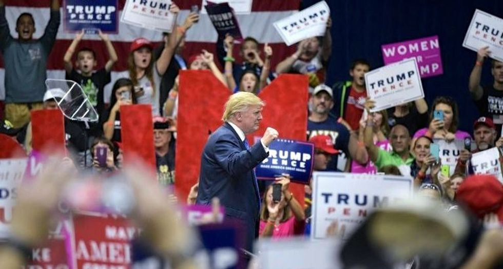 WATCH LIVE: Donald Trump holds rally in Eau Claire, Wisconsin