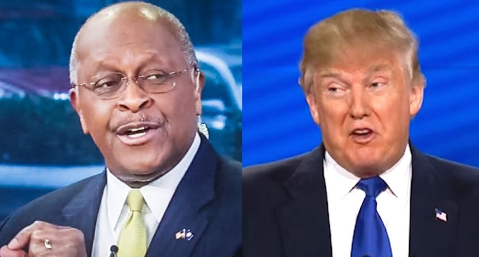 Trump attacked Herman Cain's sexual harassment accusers in 2011: They did it for 'free fame'