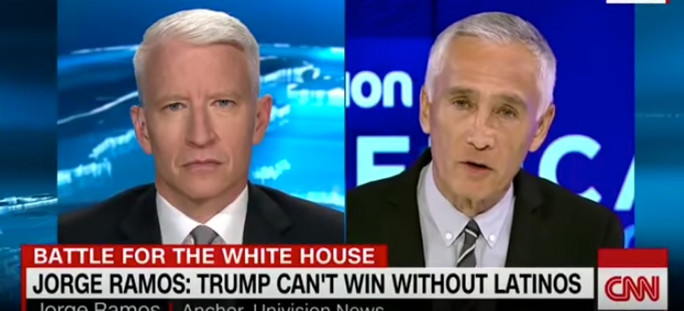 Jorge Ramos: Trump can't expect Latino votes while calling us 'rapists' and 'bad hombres'