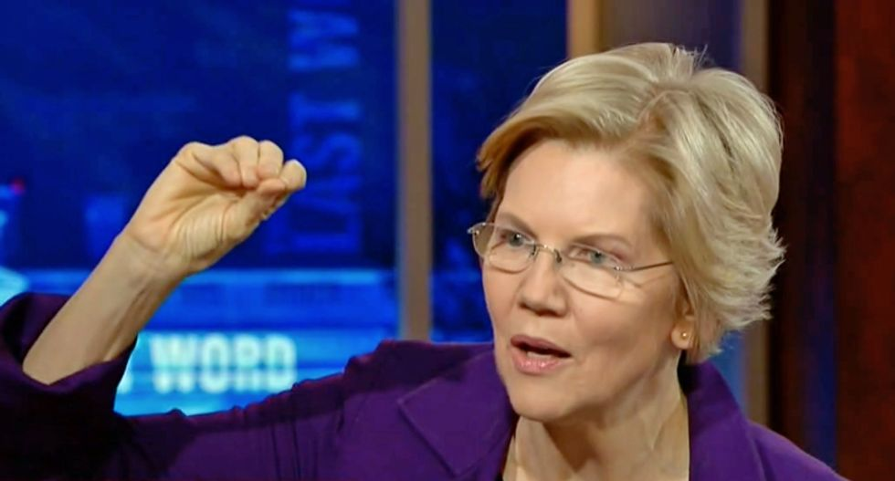 WATCH: Elizabeth Warren explains why her 'wealth tax' is key to saving democracy in America
