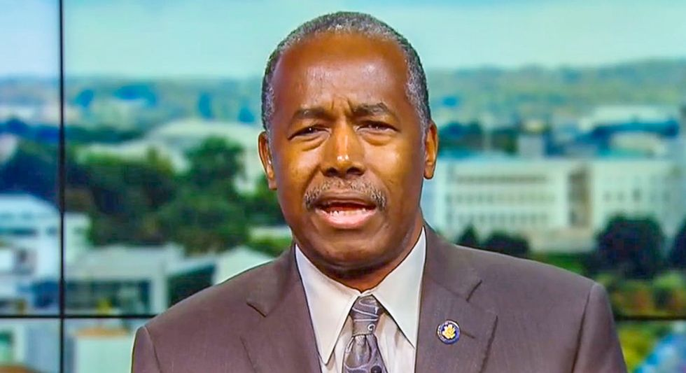 'Desperately ill' Ben Carson warns politicians to 'stop playing politics with medicine'