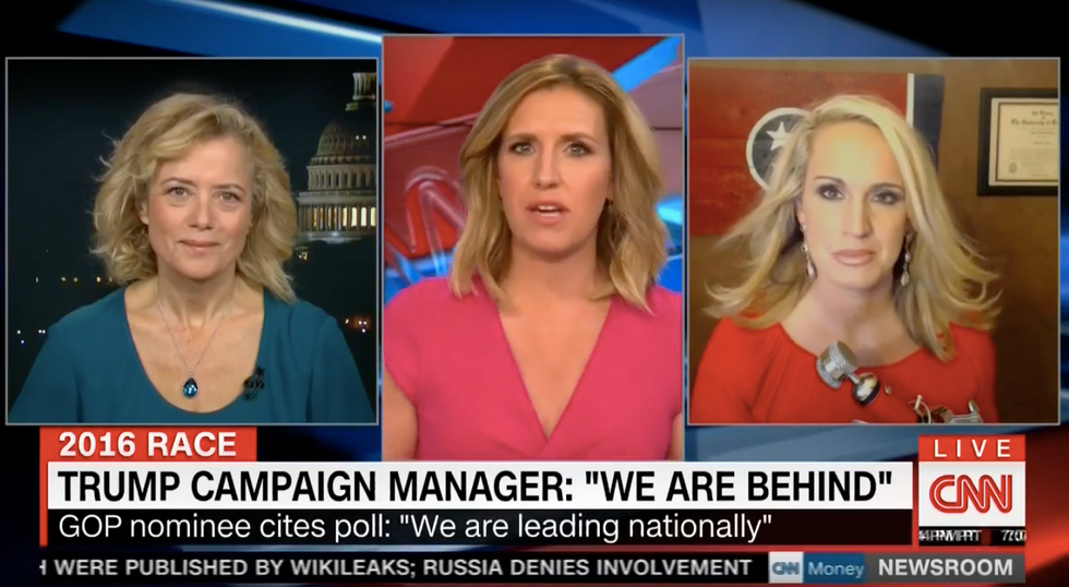 Scottie Nell Hughes: Trump's rallies are bigger so we must be winning -- just like Romney said in 2012