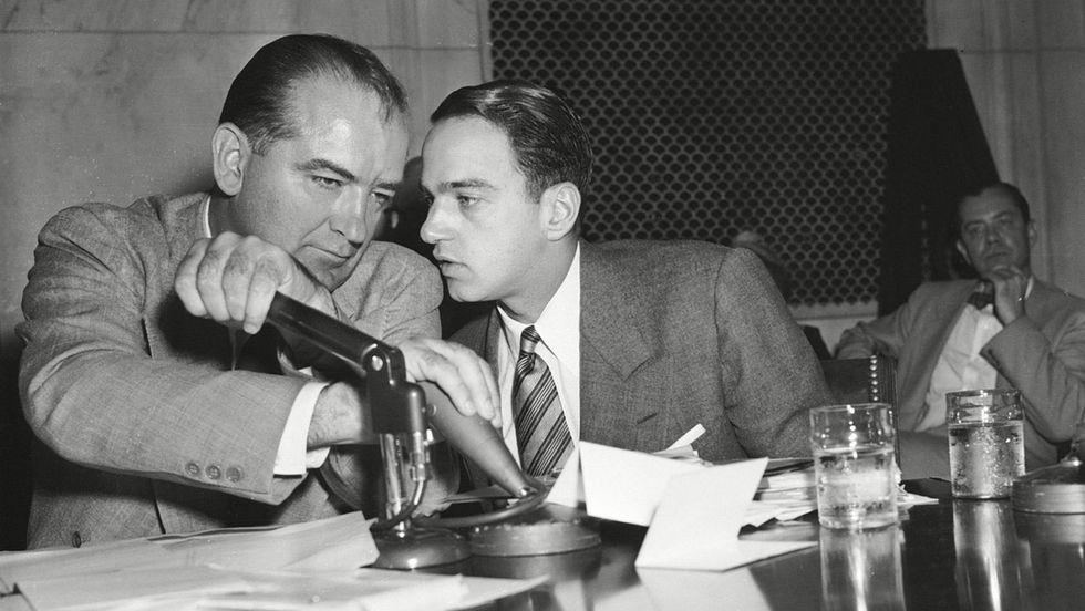 """""""Where's my Roy Cohn?"""": How Joseph McCarthy's ex-aide mentored Donald Trump and Roger Stone"""