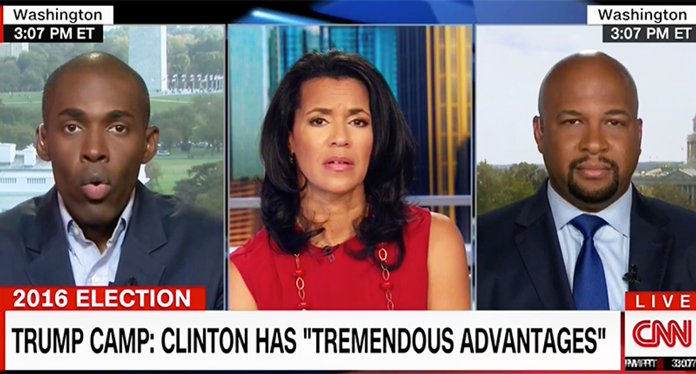 CNN pundit nails it: If you drain the swamp what you'd find at the bottom is Donald Trump