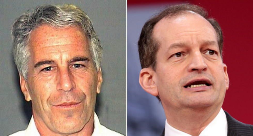 Acosta told Trump transition team he was told to 'back off' because Epstein 'belonged to intelligence': report