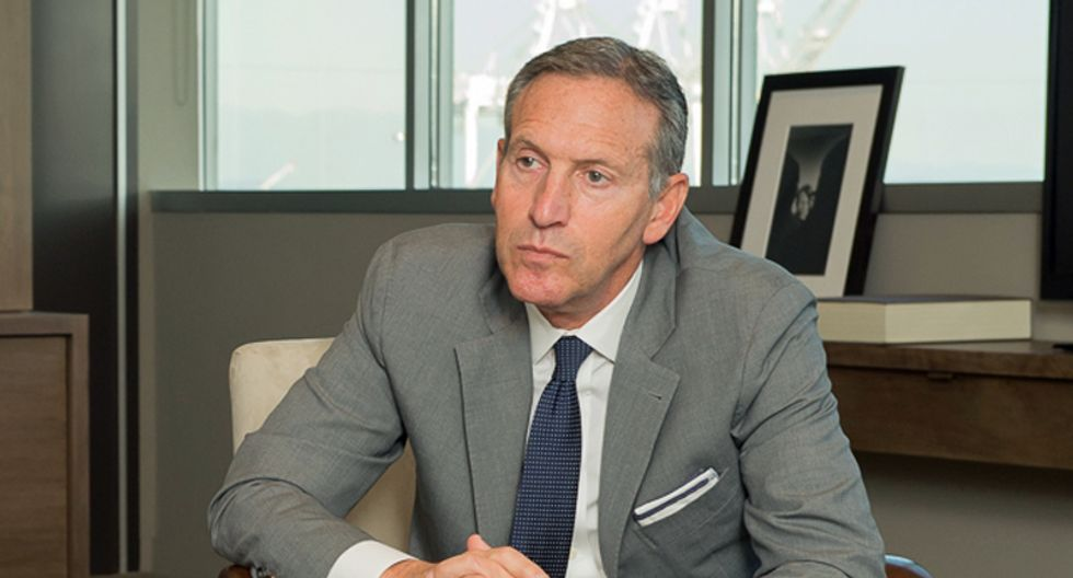 Fellow coffee magnate slams Howard Schultz: 'He's out of his depth on a vanity run for the presidency'