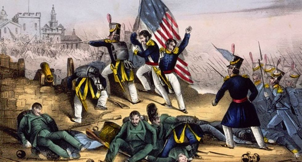 When Mexico needed a wall to keep Americans out