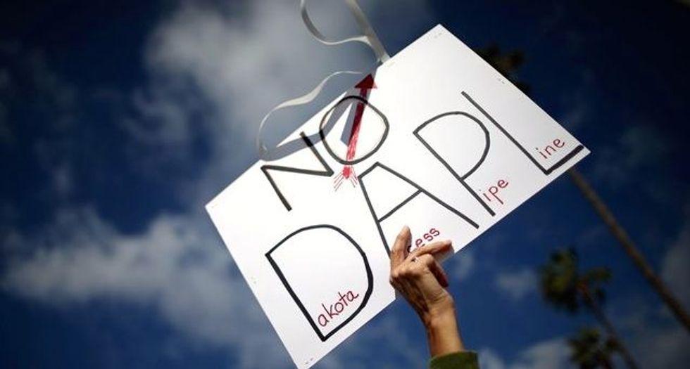 Dakota Access pipeline opponents occupy land, citing 1851 treaty