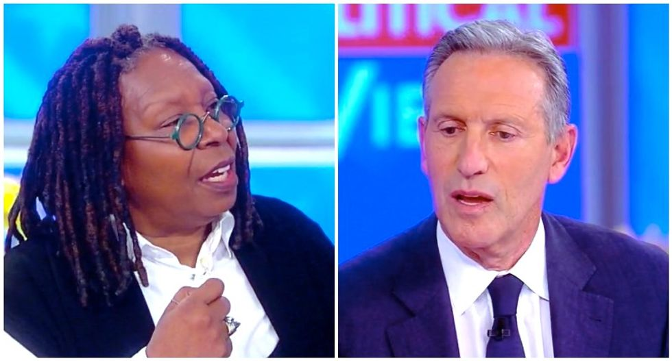 The View co-hosts expose Howard Schultz as a sham: You can't run the country like Starbucks!