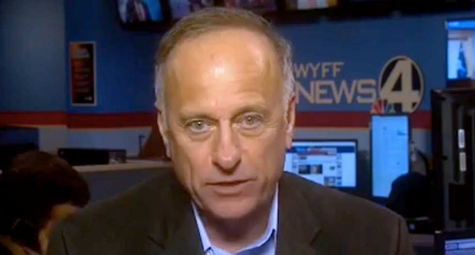 Iowa's Steve King facing ouster because his campaign is broke and his allies have fled: report