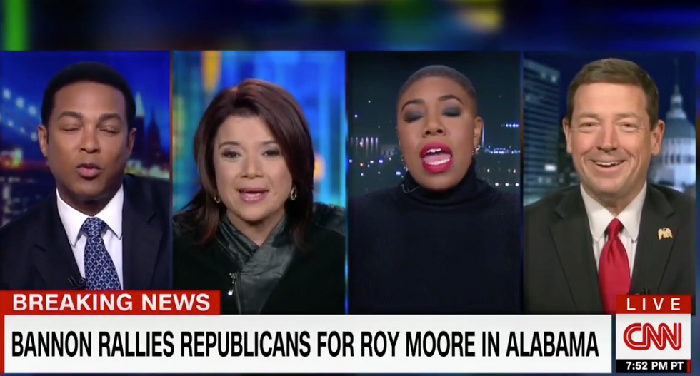 'Oh the hypocrisy!': CNN panel derails after conservative goes after Ana Navarro's 'elite worldview'