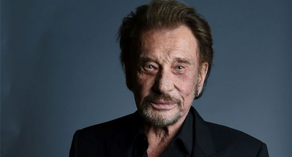 Johnny Hallyday, known as the 'French Elvis,' has died at 74