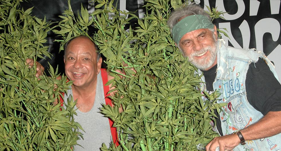 Cheech and Chong destroy anti-pot crusaders with one hilarious Facebook post