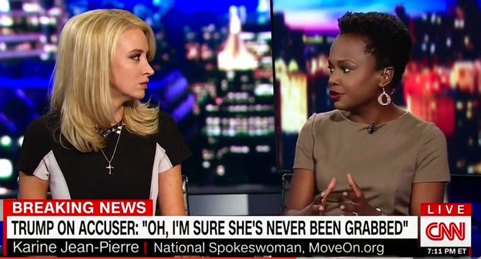 'He has no idea what sexual assault is': Kayleigh McEnany ripped for backing Trump smear of adult star