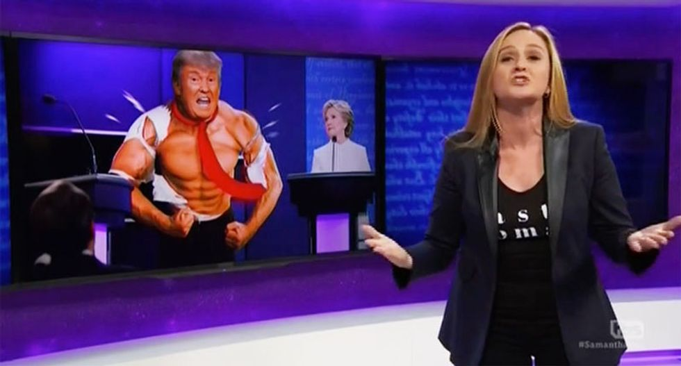 Samantha Bee absolutely destroys 'dick-waving' Trump over non-existent partial birth abortion