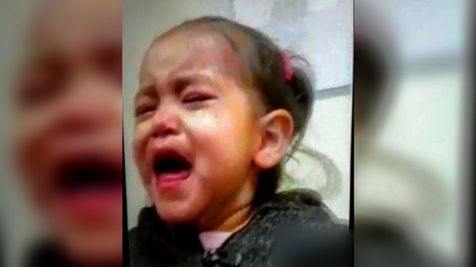 WATCH: Migrant child separated from family wails and refuses to look at mother in heartbreaking video chat