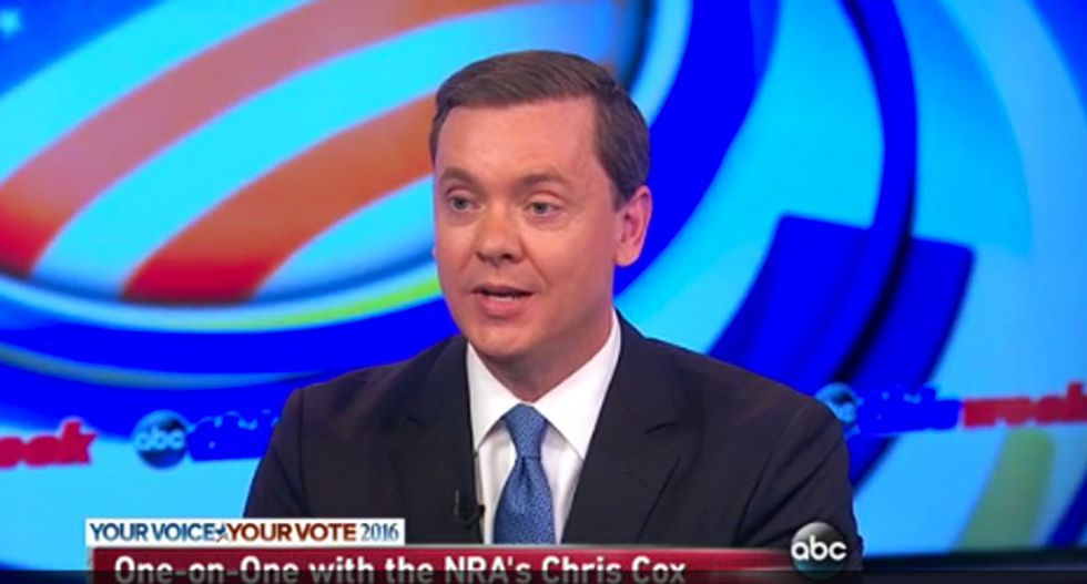 NRA exec knocks Trump for suggesting club goers should carry guns: 'That defies common sense'