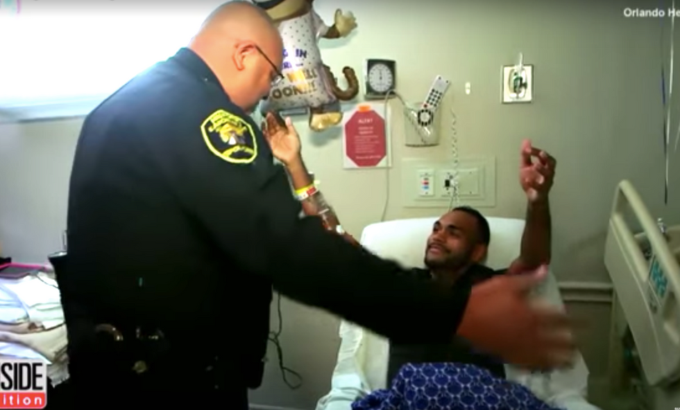 Hero cop who saved lives in Pulse nightclub massacre is losing his job and pension due to PTSD