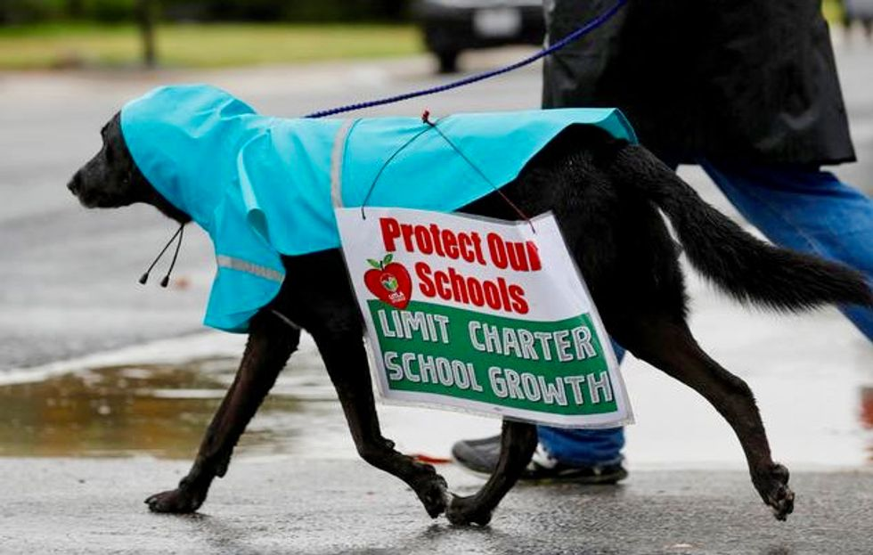 LA school board seeks pause on charter schools, after teachers' strike