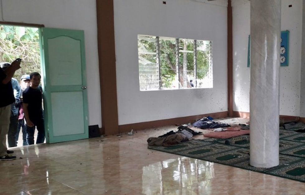 Grenade attack wounds four and kills two at southern Philippines mosque