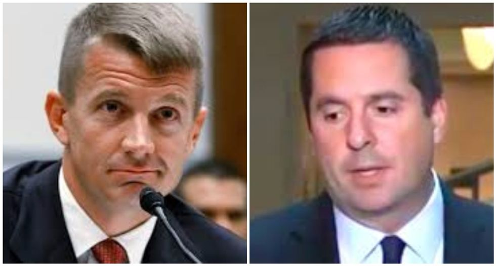 Erik Prince discussed unmasking with Devin Nunes after GOP lawmaker stepped aside from Russia probe