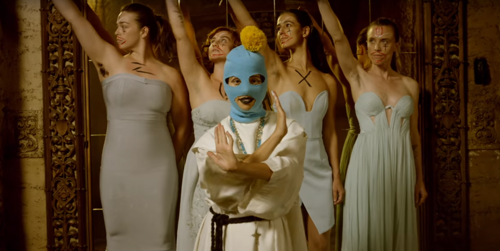 Pussy Riot just released 'Straight Outta Vagina' -- and it skewers megalomaniac males like Trump