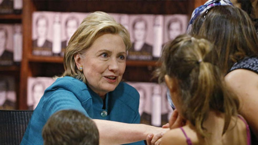 Out of touch? Hillary Clinton hits back after wealth gaffe
