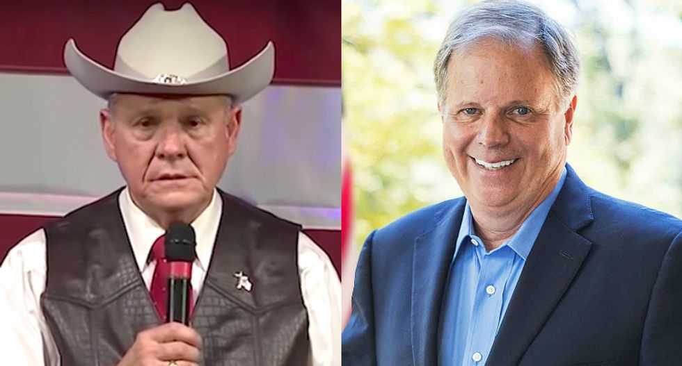 A team of Republican strategists and 'true GOP warriors' donated to Roy Moore's challenger to save the Republican Party