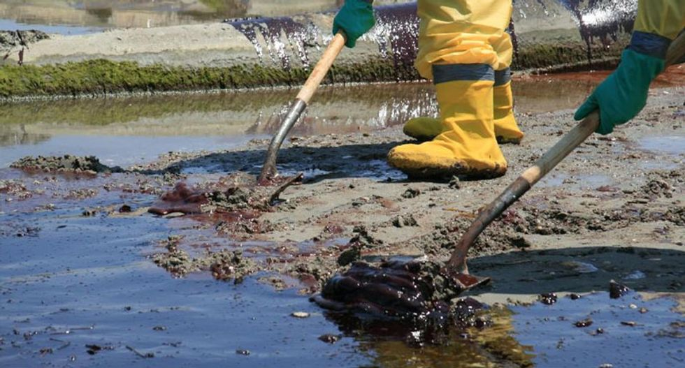 US government appealing court ruling lowering British Petroleum fine for 2010  oil spill